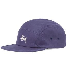 """""""STUSSY"""" BASIC LOGO CAMP CAP (BLUE)"""
