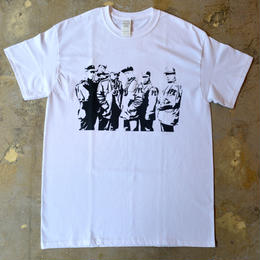 """PUBLIC ENEMY"" SILHOUETTE S/S TEE (WHITE)"