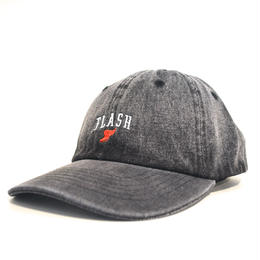 """FLASH ORIGINAL"" WING FOOT DENIM CAP (BLACK)"