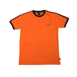 """STREET X"" TAPED SPORTS TEE (ORANGE)"