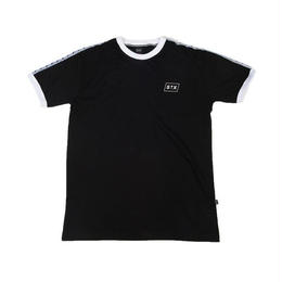 """STREET X"" TAPED SPORTS TEE (BLACK)"
