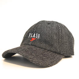 """FLASH ORIGINAL"" WING FOOT WOOL BLEND CAP (GRAY)"