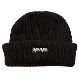"""BROTHER HOOD"" ICONIC PATCH - KNIT BEANIE (BLACK)"