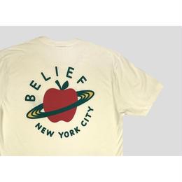"""BELIEF"" CITY SPACE TEE (CREAM)"