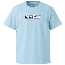 NEW YORK S/S TEE (LIGHT BLUE)