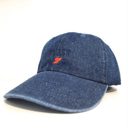 """FLASH ORIGINAL"" WING FOOT DENIM CAP (BLUE)"