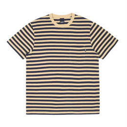 """ONLY"" Nautical Stripe Pocket T-Shirt"