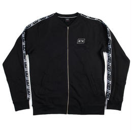 """STREET X"" ATHLETIC TAPED JACKET (BLACK)"