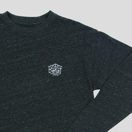 """BELIEF"" TRIBORO L/S SCOOP TEE (TRI BLACK)"
