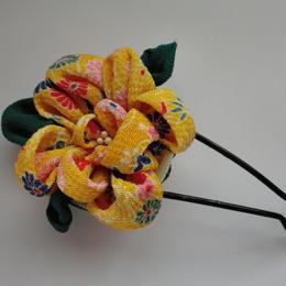 つまみのお花のかんざし