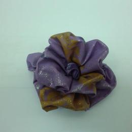 ハンドメイド コサージュ 紫