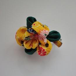 つまみのお花 ブローチ