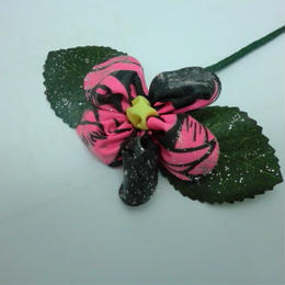 お花のかんざし ピンク