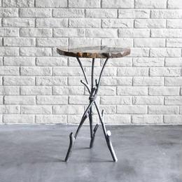 Twiggy Petrified wood Side Table  L