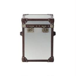 HALO PARIS TRUNK BRUSHED STEEL