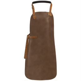 COMBEKK LEATHER APRON ライトブラウン