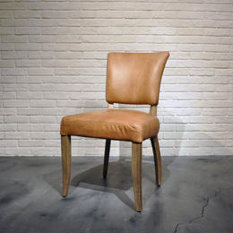 HALO MIMI CHAIR TINOSSI CAMEL & WEATHERED OAK