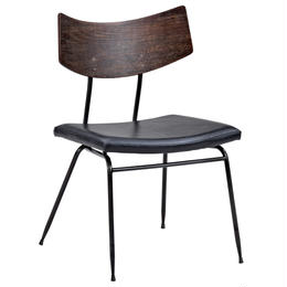 SQUARE ROOTS  SOLI CHAIR BLACK LEATHER