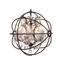 GYRO CRYSTAL CHANDELIER SMALL