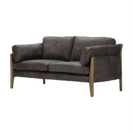 HALO LOFFEE 2P SOFA DESTROYED BLACK