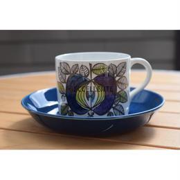 【北欧ヴィンテージ】【Rörstrand】エデン コーヒーカップ&ソーサー