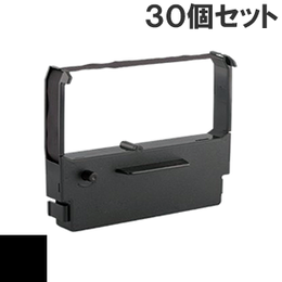 BRE101S / BRJ121S ( B ) ブラック インクリボン カセット BROTHER (ブラザー) 汎用新品 (30個セットで、1個あたり800円です。)