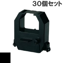 CE315150  ( B ) ブラック インクリボン カセット AMANO (アマノ) 汎用新品 (30個セットで、1個あたり1600円です。)