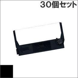 ERC-23 ( B ) ブラック インクリボン カセット EPSON(エプソン) 汎用新品 (30個セットで、1個あたり620円です。)