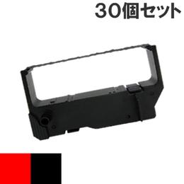 IR-82  ( RB ) レッド&ブラック インクリボン カセット CITIZEN (シチズン) 汎用新品 (30個セットで、1個あたり750円です。)