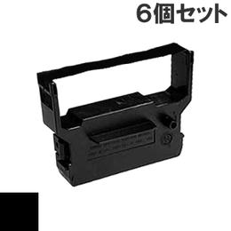 IR-61  ( B ) ブラック インクリボン カセット CITIZEN (シチズン) 汎用新品 (6個セットで、1個あたり1000円です。)
