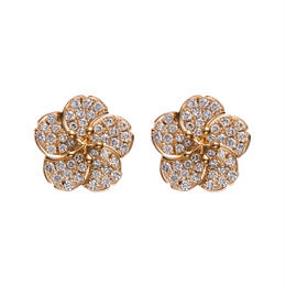 Ume pierced earrings  K18YG