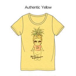 パイナップルTシャツ イエロー / Pineapple T-Shirt Yellow