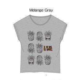 ドルマンカットソー グレー / Cap-Sleeve T-Shirt Glay