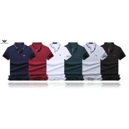 人気美品 Giorgio Armani/ジョルジオ・アルマーニ 新入荷 ポロシャツ メンズファッション セレブ愛用
