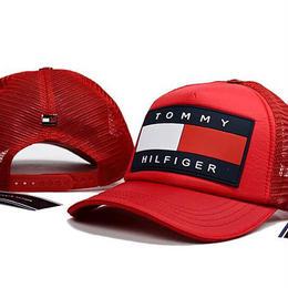 夏物 トミーヒルフィガー キャップ 帽子 Tommy 男女兼用 ブラック 野球 メンズ ウィメンズファッション