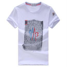 セール中!モンクレール MONCLER 半袖 夏物 tシャツ 激安! 人気 4色選択 男女兼用 メンズ愛用