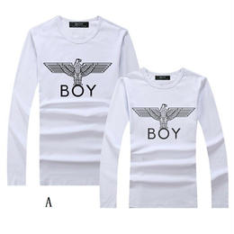 ボーイロンドン BOY LONDON 激安 tシャツ 男女兼用 長袖 秋物 無地 メンズファッション