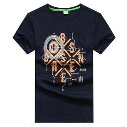 ヒューゴボス 新入荷 tシャツ 男女兼用 夏物 人気 多色選択 ウィメンズファッション メンズファッション グリーン