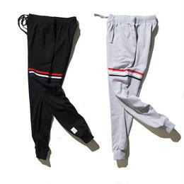 THOM BROWNE ズボン 長パンツ カジュアル 運動 2色 男女兼用 人気 激安! ウィメンズファッション メンズファッション