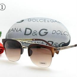 大人気!D&G メガネ 3色 定番タイプ 合わせやすい XHY109