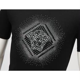 大人気 ベルサーチ Tシャツ メンズファッション 2色 男女兼用 メンズ愛用