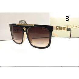 夏定番 ベルサーチ 高級感 メガネ 3色 人気新品 茶色系  1026