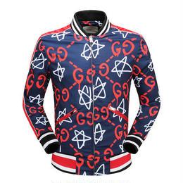 グッチ 新入荷! 激安! 大人気ジャケット ライダースジャケット 男女兼用 かっこよく 星柄 2色選択 上質 冬物