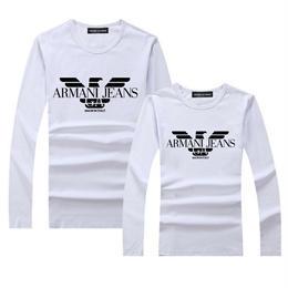 アルマーニ ARMANI 新入荷! 多色選択 人気新品 長袖 tシャツ 男女兼用155