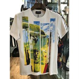 ディースクエアード/DSQUARED2 ハワイ風 人気 メンズファッション メンズ愛用 tシャツ 激安 2色 男女兼用