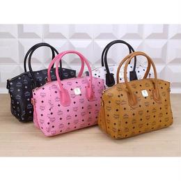 エムシーエム/mcm 多色 レディースバッグ セレブ愛用 ハンドバッグ ピンク ショルダーバッグ 2wayバッグ