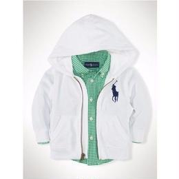 子供用 ポロ ラルフローレン ジャケット 刺繍 冬 パーカー新品 上質 色選択