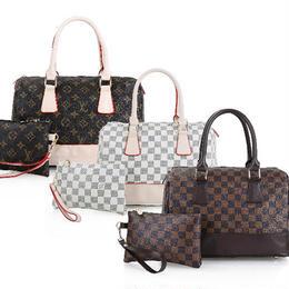 ルイヴィトン 高級感!お買い得 バッグ 2点セット ハンドバッグ 大容量 トートバッグ 3色 ウィメンズファッション