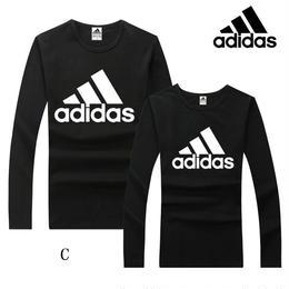 アディダス Adidas 激安 運動適用 長袖tシャツ 多色 スウェット 人気新品 tシャツ 男女兼用 ウィメンズファッションT002
