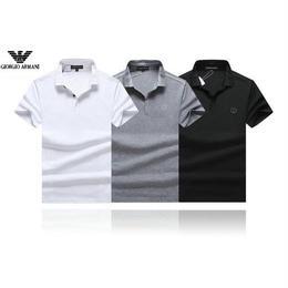激安 ジョルジオ アルマーニ メンズファッション 3色   ポロシャツ 運動風 人気 3色